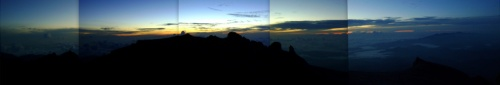 Sunrise from Mt Kinabalu Summit